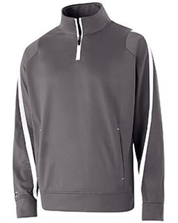 Adult Polyester 1/4 Zip Determination Pullover-