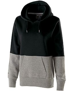 Ladies Cotton/Poly Ration Hoodie-Holloway