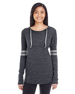 Ladies Hooded Low Key Pullover-Holloway