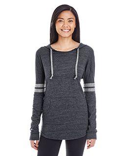 Ladies Hooded Low Key Pullover-