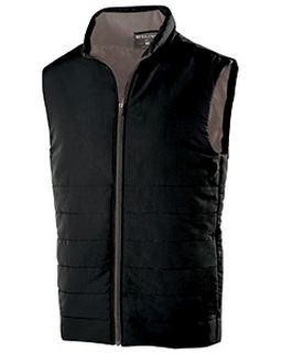 Adult Polyester Full Zip Admire Vest-Holloway
