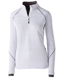 Ladies Dry-Excel� Bonded Polyester Deviate Pullover-Holloway
