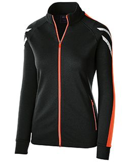 Ladies Temp-Sof Performance Fleece Flux Warm-Up Jacket-Holloway