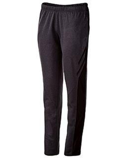Ladies Temp-Sof Performance Fleece Flux Tapered-Leg Warm-Up Pant-Holloway