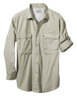 Mens Gulf Stream Long-Sleeve Fishing Shirt-Hook & Tackle