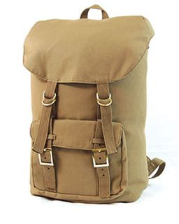 Voyager Canvas Backpack-Hardware