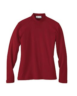 Ladies Interlock Mock Neck-Il Migliore