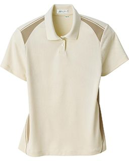 Ladies Recycled Polyester Performance Honeycomb Color Block Polo-Il Migliore
