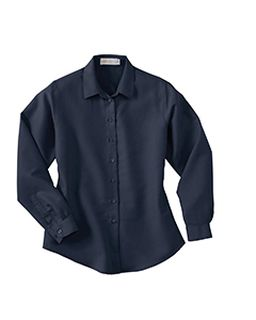 Ladies Dobby Polynosic Long Sleeve Shirt-Il Migliore