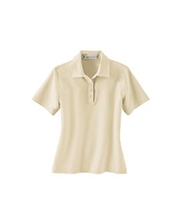 Ladies Performance Polyester Stretch Woven Polo-