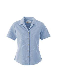 Ladies Silk Large Jacquard Shirt-