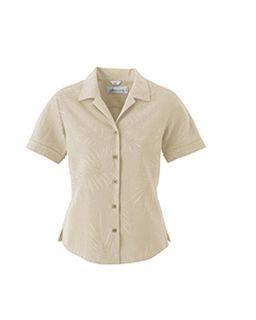 Ladies Silk Large Jacquard Shirt-Il Migliore