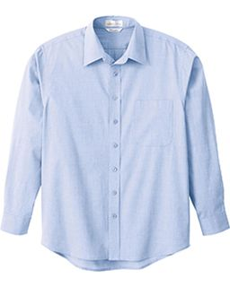 Mens Primalux Tm End-On-End Dress Shirt-Il Migliore