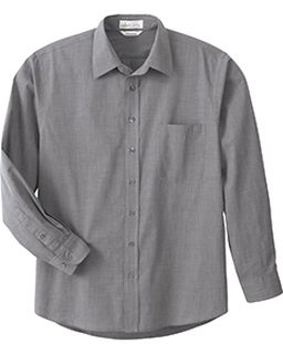 Mens Primalux Tm End-On-End Dress Shirt-