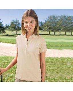 Ladies Pima Cool Short Sleeve Polo-Izod