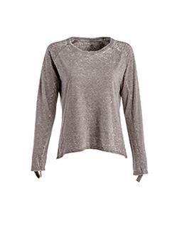 Ladies Zen Jersey Hi-Low Long-Sleeve T-Shirt-