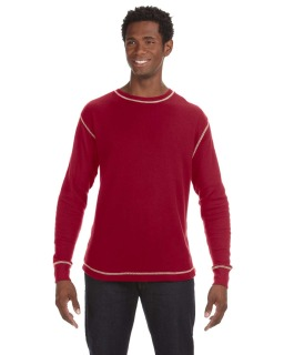 Mens Vintage Long-Sleeve Thermal T-Shirt-J America