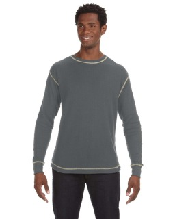 Mens Vintage Long-Sleeve Thermal T-Shirt-