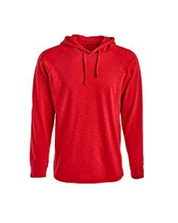 Adult Vintage Slub Knit Pullover Hooded Sweatshirt-