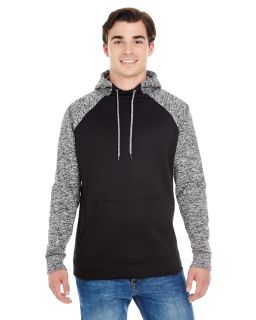 Adult Colorblock Cosmic Pullover Hooded Sweatshirt-J America