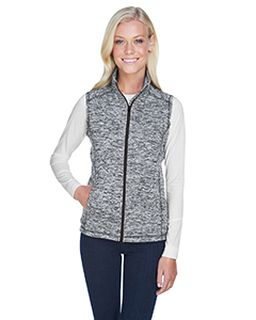 Ladies Lasic Cosmic Fleece Vest-
