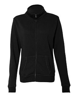 Ladies Sueded Fleece Full Zip Jacket-