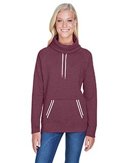 Ladies Relay Cowl Neck-J America