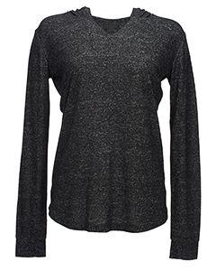 Ladies Cozy Pullover Hoodie T-Shirt-