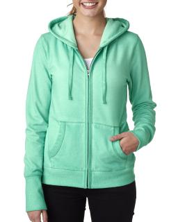 Ladies Oasis Wash Full-Zip Hood-