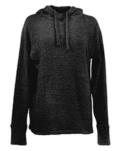 Ladies Teddy Fleece Scuba Hoodie-