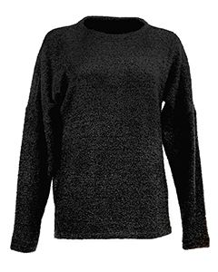 Ladies Teddy Fleece Crew Sweatshirt-