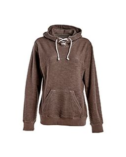 Ladies Sport Lace Scuba Hooded Sweatshirt-
