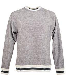 Adult Peppered Fleece Sweatshirt-J America
