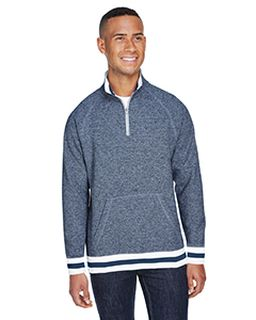 Adult Peppered Fleece Quarter-Zip-