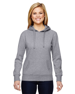 Ladies Glitter French Terry Hood-J America