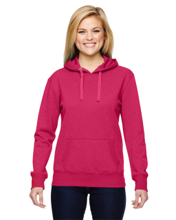 Ladies Glitter French Terry Hood-