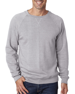 Mens Triblend Fleece Crew-J America