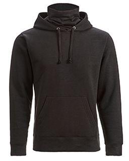 Unisex Gaiter Pullover Hooded Sweatshirt-