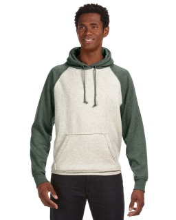 Adult Vintage Heather Pullover Hood-