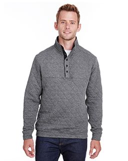 Adult Quilted Snap Pullover-