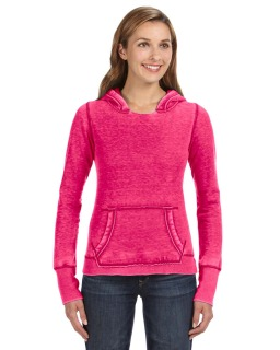 Ladies Zen Pullover Fleece Hood-