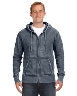 Adult Vintage Zen Full-Zip Fleece Hood-J America