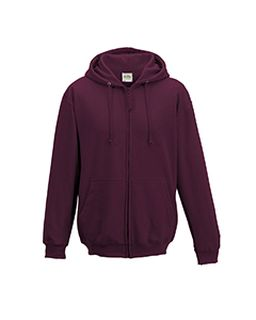 Mens 80/20 Midweight College Full-Zip Hooded Sweatshirt-