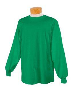 Adult 5 Oz. Hidensi-T® Long-Sleeve T-Shirt-Jerzees