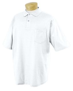 Adult 5.6 Oz. Spotshield� Pocket Jersey Polo-