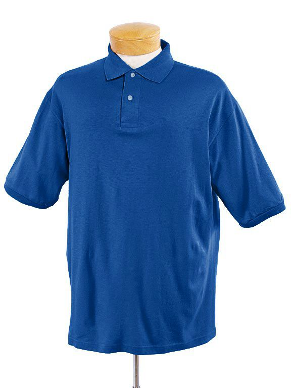 Adult 5.6 Oz. Spotshield� Jersey Polo-Jerzees
