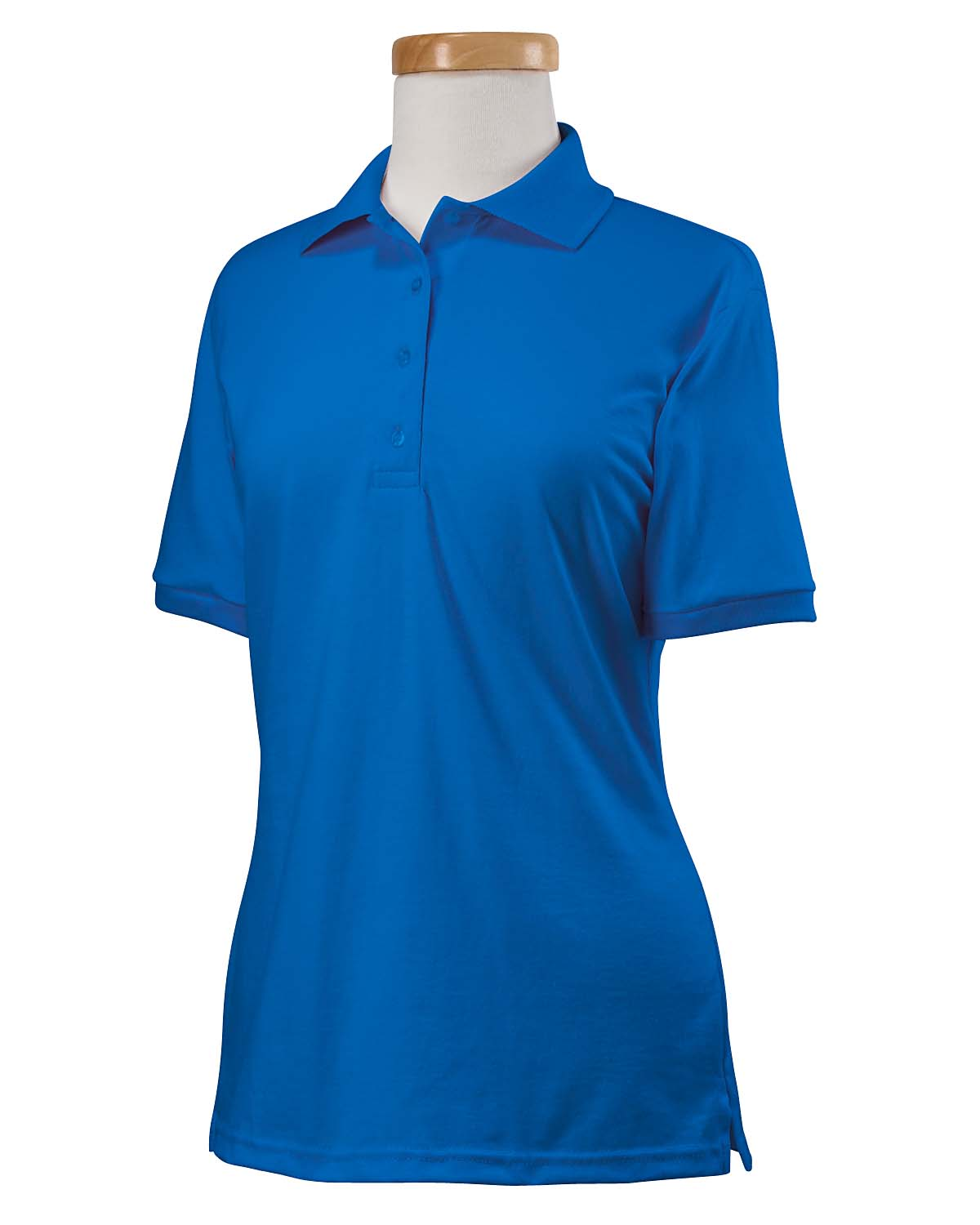 Ladies 5.6 Oz. Spotshield� Jersey Polo-Jerzees