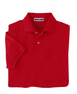 5.9 Oz., 50/50 Pique Polo With Spotshield�-Jerzees