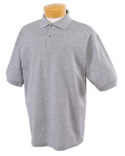 Mens 6.5 Oz. Ringspun Cotton Pique Polo-