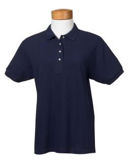 Ladies 6.5 Oz. Ringspun Cotton Pique Polo-Jerzees